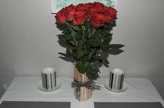 Soda can flower vase
