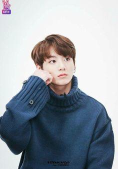 He looks like a smol bean in oversized sweaters lol it's adorable