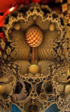 by on DeviantArt Fractal Images, Fractal Art, Acid Trip Art, Art Visionnaire, Psychadelic Art, Fractal Design, Visionary Art, Geometric Art, Sacred Geometry