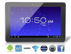 Ainol Novo 10 Hero 10.1 Android 4.1.1 Dual Core M6 1.5GHz Tablet PC with External 3G, Bluetooth, 2160P HDMI Playback...