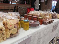 Cookies and preserves