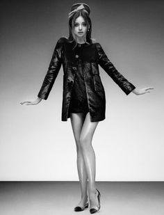 Miranda Kerr by Sebastian Mader for Jalouse, February 2013