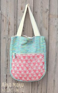 Barcelona summer bag Free Sewing Pattern