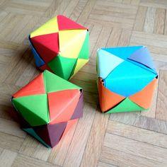 schaeresteipapier: Es darf gewürfelt werden - mit Origami