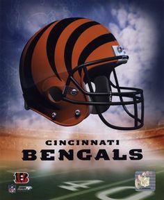 Bengals Helmet Logo ('04) #football #NFL #shopforart