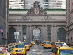 Grand Central Terminal was first opened in 1891. The Beaux Arts building features a ceiling in its m... - Getty Images