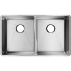 Elkay Crosstown ECTRU31179T Equal Double Bowl Undermount Stainless Steel Sink >>> You could get extra details at the picture link. (This is an affiliate link). Undermount Stainless Steel Sink, Undermount Sink, Stainless Steel Kitchen, Double Bowl Kitchen Sink, Basin Sink, Washing Dishes, Kitchen Fixtures, Contemporary Design