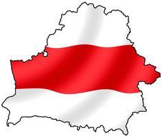 Бел-чырвона-белая Беларусь.