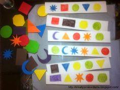 2w1: kolory i kształty   Kreatywnie w domu