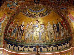 santa maria in trastevere mosaic - 1.po.8.st