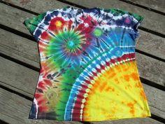 ... Cut Suraya Spiral Corner Sun Rising / Galaxy Tie Dye by PiecefulWorlds