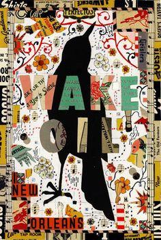 'Wake oil' by Tony Fitzpatrick.