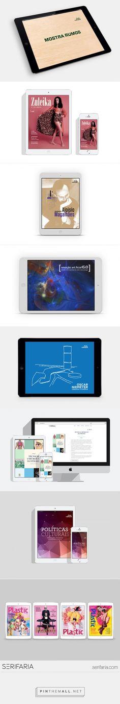 www.serifaria.com [SERIFARIA | graphic design studio] Publicações digitais para tablet e smartphone desenvolvidas pela Serifaria através de diferentes ferramentas (Adobe DPS, e-pub Fluid e e-pub Fixed Layout).