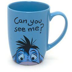 Eeyore Peek-a-Boo Mug