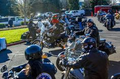 Hillsboro Fire Department, motorcylists team up to bring joy to kids this holiday season Children In Need, Kids, Fire Department, Bikers, Shadows, Oregon, Christ, Monster Trucks, Brother