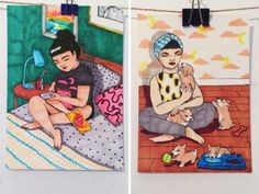 Adelaide illustrator, Ban She, has captured our lifestyle – and our hearts.