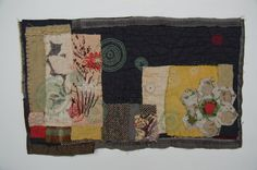 Gallery One - Mandy Pattullo  - Made from old quilts and thrown out garments.