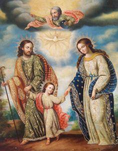 JOSE, cabeza de la Sagrada Familia.
