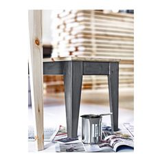 NORNÄS Bench - IKEA for dining table -only 1 use chairs on other side- stain legs black £70 Length: 138 cm Height: 45 cm Width: 38 cm