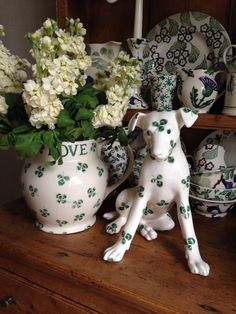 Emma Bridgewater Clover Terrier with Special Clover Six Pint Jug
