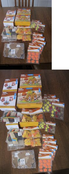dfc37a26 Foam and Felt Shapes 116654: Thanksgiving Fall Craft Kits Oriental Trading  Creatolgy Turkey Pumpkin Lot Of 24 -> BUY IT NOW ONLY: $16 on #eBay #shapes  ...