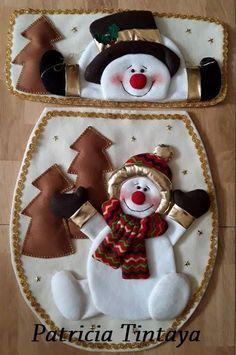 44 Ideas Crochet Christmas Crafts Easy Diy For 2019 Crochet Christmas Trees, Felt Christmas Ornaments, Christmas Sewing, Diy Christmas Tree, Christmas Time, Christmas Decorations, Xmas, Easy Crafts, Crafts For Kids