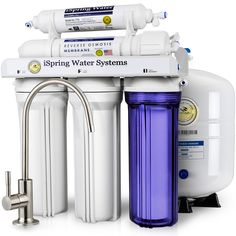 iSpring #RCC7 RCC7 5-Stage Residential Under-Sink Reverse Osmosis Water Filter System - WQA Gold Seal Certified, 75 GPD   iSpring Water Systems - #1 Best Seller Reverse Osmosis Water Filter