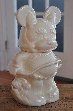 Turnaround Mickey/Minnie Cookie Jar