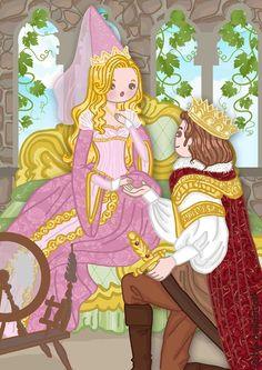 neilabbott: ilustraciones y diseños | Sleeping Beauty by neilabbott