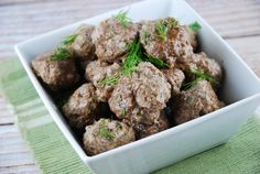 Ranch Meatballs Recipe
