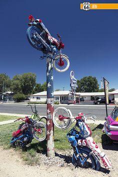 Route 66 Motoporium. SELIGMAN, AZ