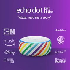 Designed with kids in mind - They can ask Alexa to play music, hear stories, call approved friends and family, and explore a world of kid-friendly skills. Fire Kids, Alexa App, Alexa Echo, Alexa Device, Alexa Speaker, Alexa Skills, Nickelodeon Cartoons, National Geographic Kids