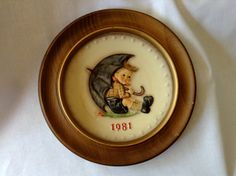 Vintage 1981 Hummel 11th Annual Plate With by FrancescasFavorites, $18.00