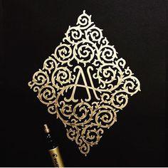 Great work by @memovigil #designspiration #creative #art #design #lettering…