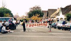 Christmas parade circa 1995ish