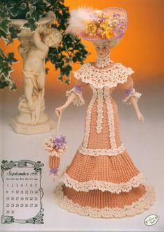 Annie's Attic Barbie crochet pattern