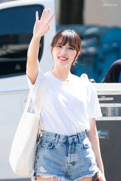 Twice-Mina 180715 SBS Inkigayo