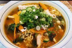 Tri skoro asi ázijské polievky | Na pive Ramen, Ethnic Recipes, Food, Essen, Meals, Yemek, Eten