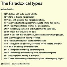 The Paradoxical Types