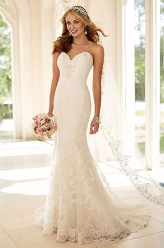 Glamorous. Sexy. Extravagant. Stella York wedding dresses are more than just a designer label. It's an indelible mind-set — with each creation a perfect complement to a bride's attitude, style and spirit.
