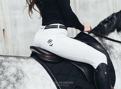 [Equestrian Fashion] Aztec Diamond, ethical and eco-friendly riding breeches - Jouini - - . Equestrian Boots, Equestrian Outfits, Equestrian Style, Equestrian Fashion, Horse Fashion, Riding Breeches, English Riding, English Tack, Horseback Riding