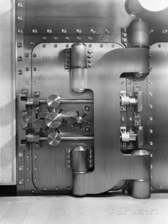 1930s Bank Vault Photographic Print at AllPosters.com