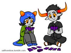 Art: Not mine credit to the artist (http://salihombox.tumblr.com/tagged/homestuck)