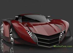 2013 Pagani Thundura Concept by Prashant Choudhary more on http://muchocars.com