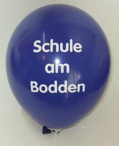 #bedruckter #Ballon zum #Schulfest