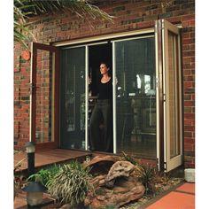 Zone Hardware 2040 x 990mm Charcoal Malibu Concertina Spring Door