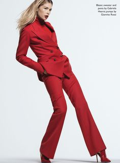 Doutzen Kroes Models Fashion Forward Looks for The Edit
