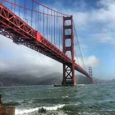 Golden Gate Bridge in San Francisco, CA.........I was born in Berkeley about 5 miles from the bridge....vacationing Aug 2014.