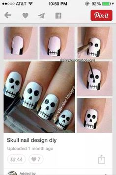 Easy Nail Art Designs For Halloween Hireability