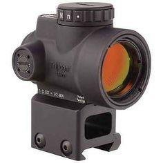 Trijicon MRO Mini Rifle Optic 1x25mm W/Lower 1/3 Co-Witness Mount MRO-C-2200006